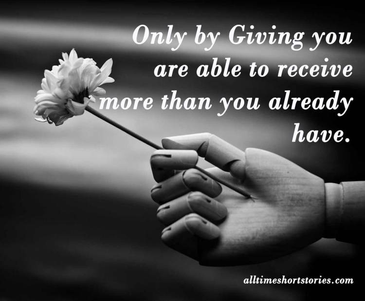 Inspiring Quote about Giving