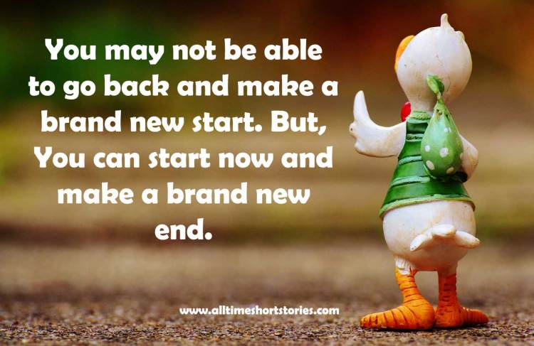 Quote about starting over