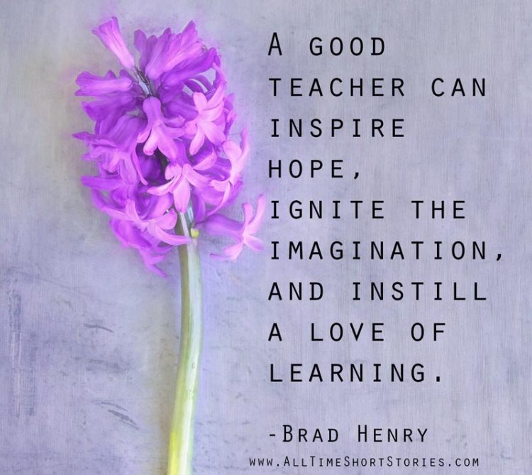 Inspirational Quote about Teacher