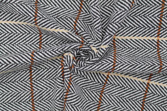 tissu lainage diagonales noir ecru de qualite tissu au metre tissu pas cher alltissus com