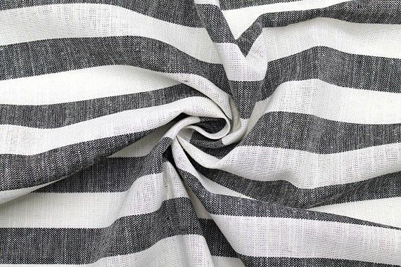 tissu lin viscose coton rayure ava noir de qualite tissu au metre tissu pas cher alltissus com