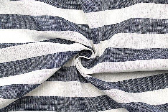 tissu lin viscose coton rayure ava bleu de qualite tissu au metre tissu pas cher alltissus com