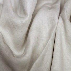 tissu habillement lin au metre pas cher