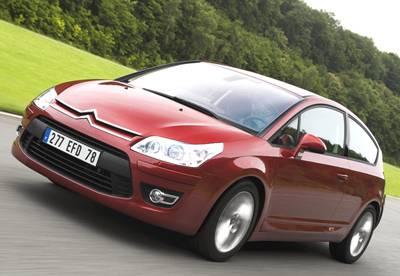 Nya C4 Coupé. foto: Automobiles Citroën.