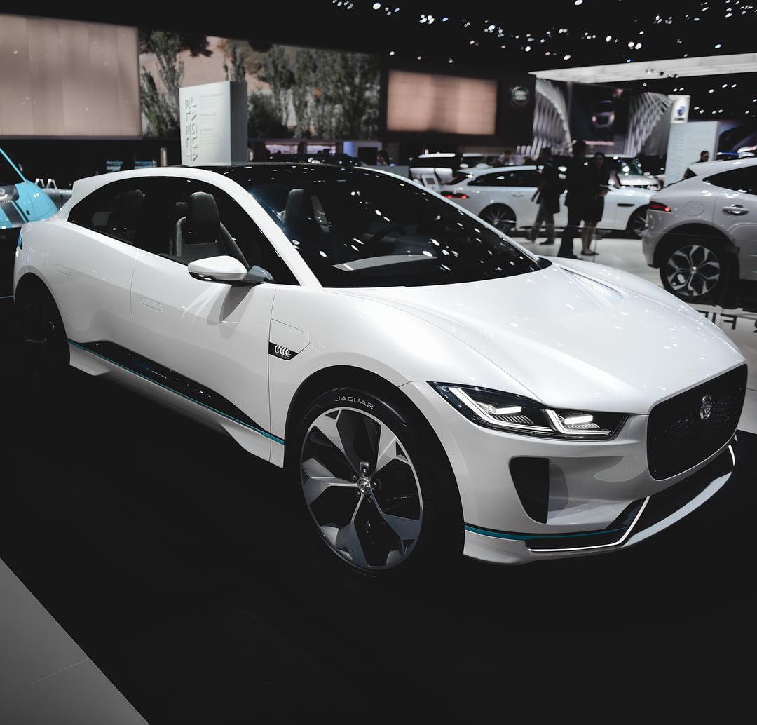 Prototyp av I-Pace från Los Angeles Motor Show