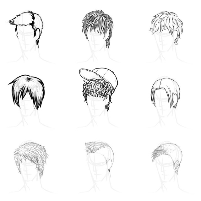 best 20 male anime hairstyles - best collections ever | home