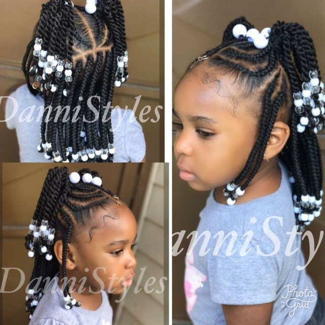the top 20 ideas about lil girl braided hairstyles with