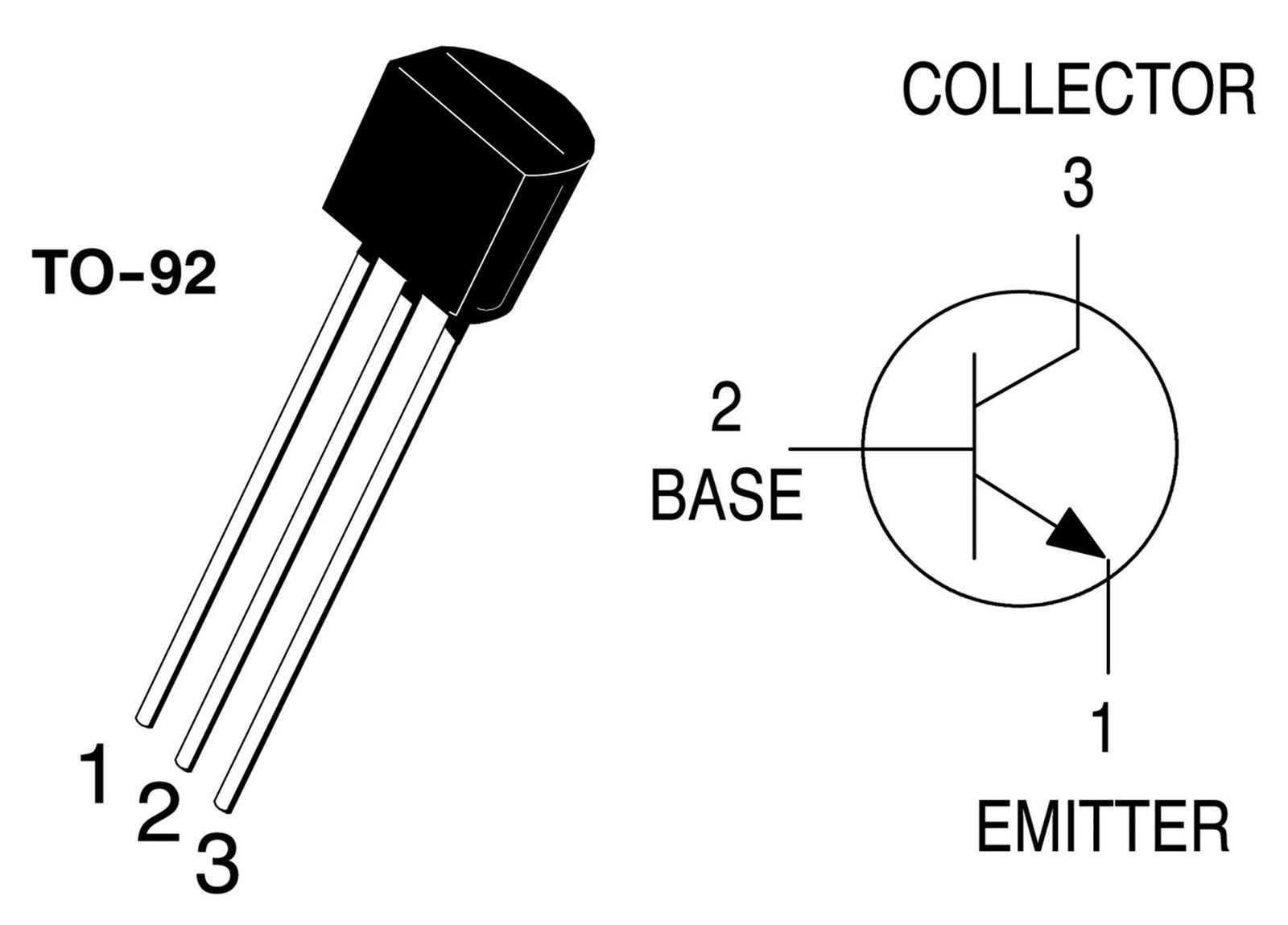 10 X Bc547 Npn Transistor To 92