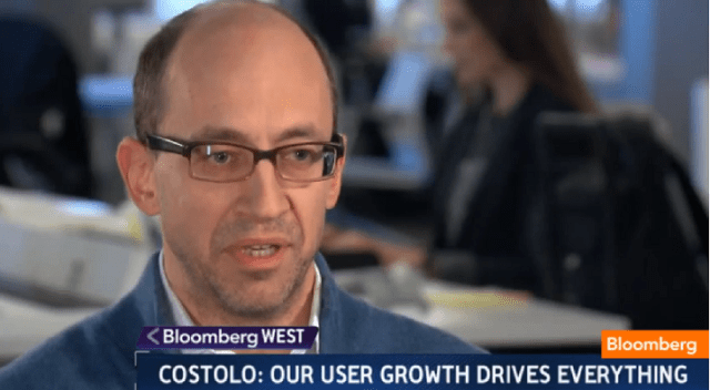 Twitter CEO on user growth