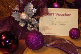 Dinner Vouchers gift ideas