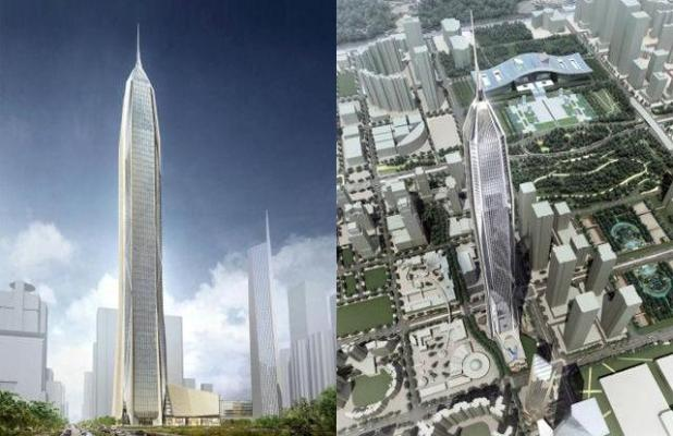 Ping an International Finance Tower Center 1 (SHENZHEN, CHINA)