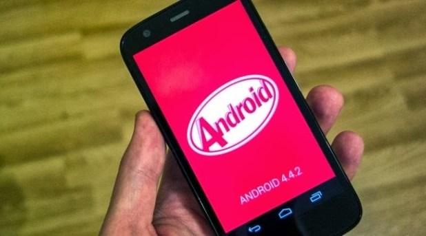 Moto G Android KitKat