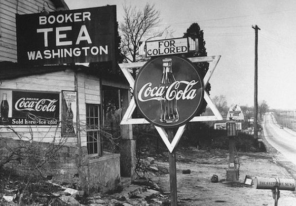 Coca cola played a role in race relations.
