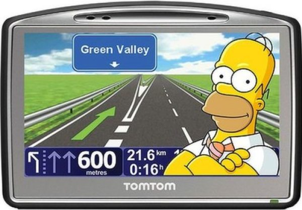 Homer has the most downloaded GPS voice in the world