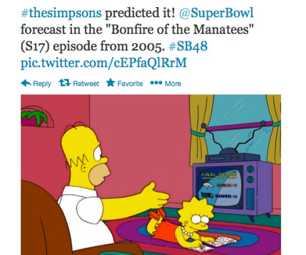 Lisa has accurately predicted three Super Bowl wins