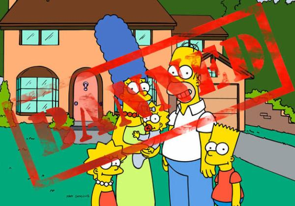 'Simpsons' toys are banned in Iran