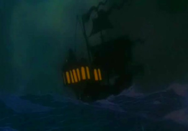 The 'two minute' storm in The Little Mermaid took 10 special effects artists over a year to finish