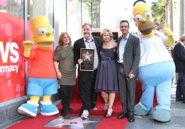 The Simpsons are based on Matt Groening's family