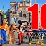 Top Ten Shocking Facts About Disney