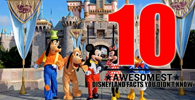 Top Ten Shocking facts about Disney