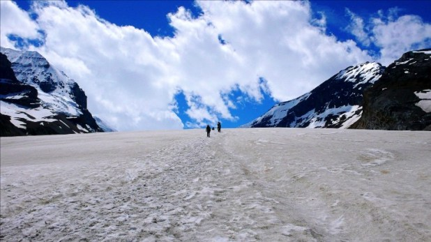 Ледник Атабаска, Канада