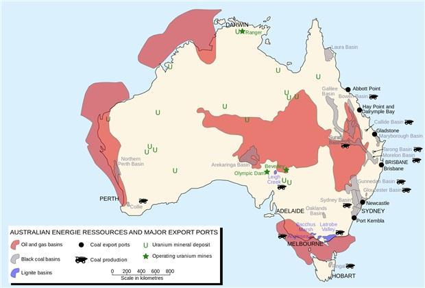 Australia Coal Reserves