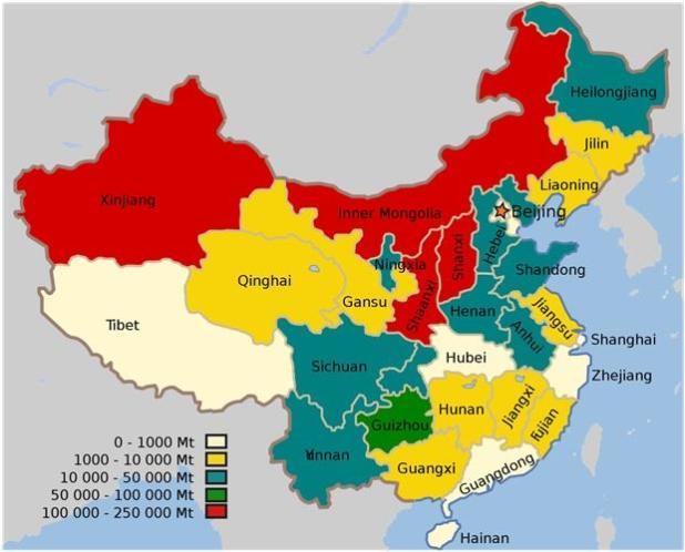 China Coal Reserves