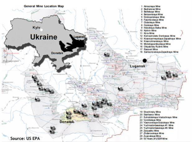 Ukraine Coal Reserves