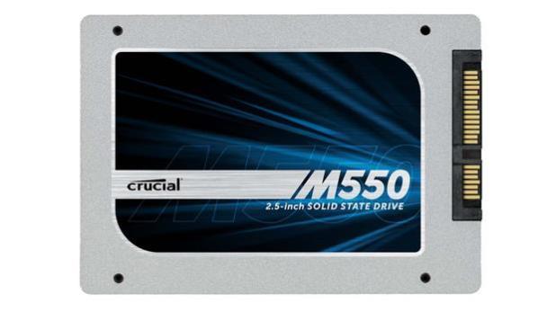 Crucial M550 SSD