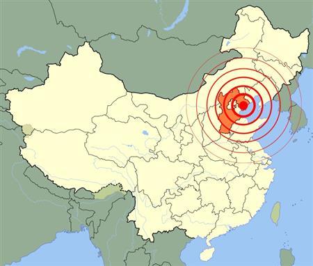 Таншаньского землетрясения 1976