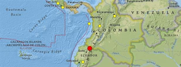 Ecuador-Colombia Earthquake