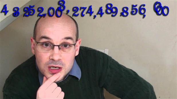 A 3x3x3 Rubik's Cube has 43 Quintilian possible configurations