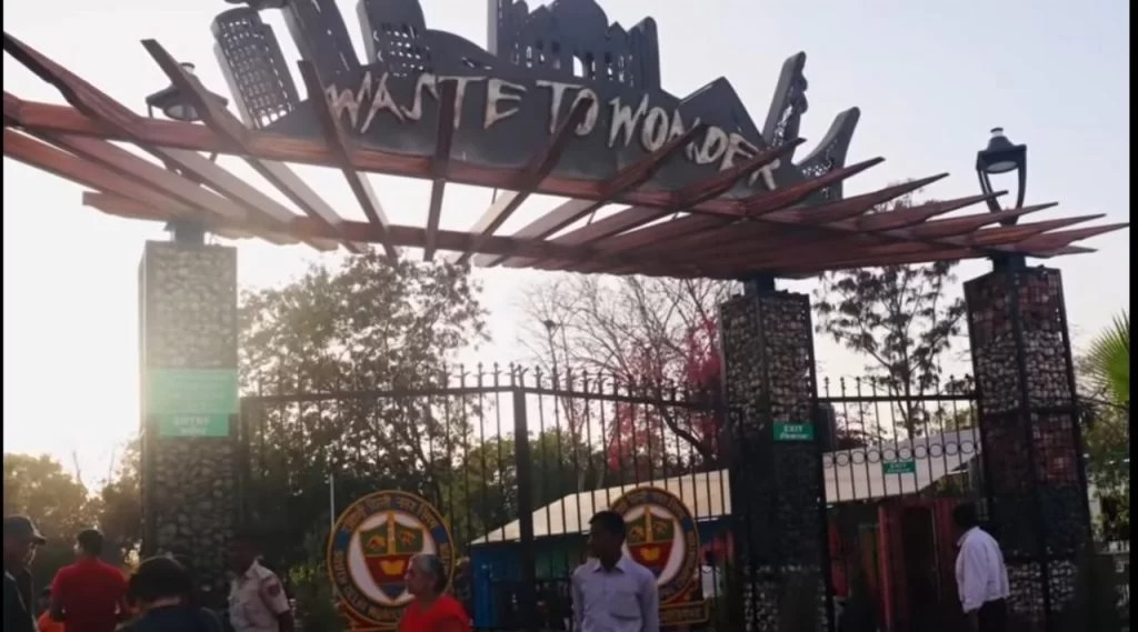 Waste to Wonder Park, Delhi, all travel story