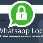 How To set password for whatsapp