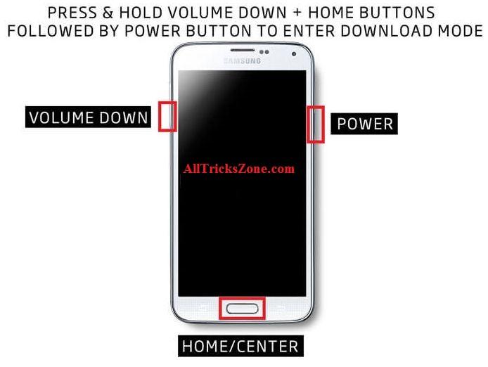 Samsung Odin Download mode