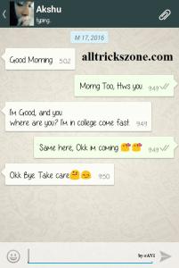 fake whatsapp conversation android