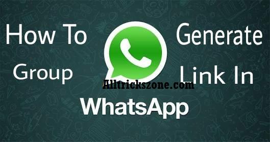 whatsapp group join link create