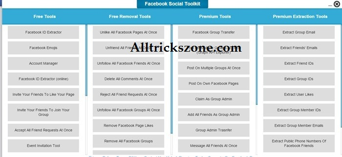 facebook social toolkit for chrome