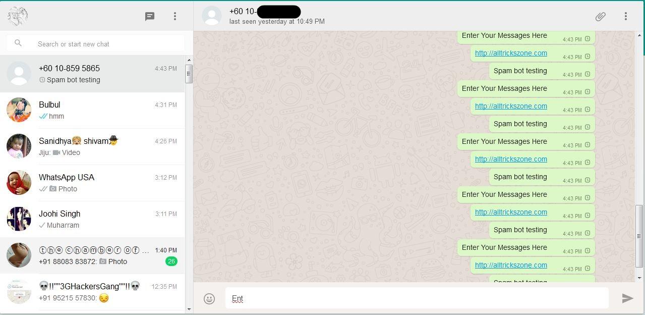whatsapp unlimited message sender