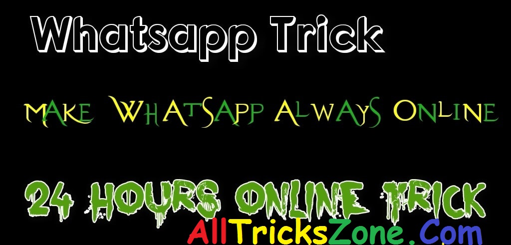 How to Show WhatsApp Status Always Online Without Keep WhatsApp