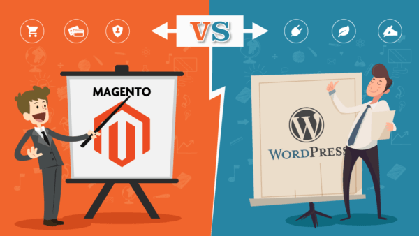 Magento vs WordPress : Meilleur CMS site e-commerce
