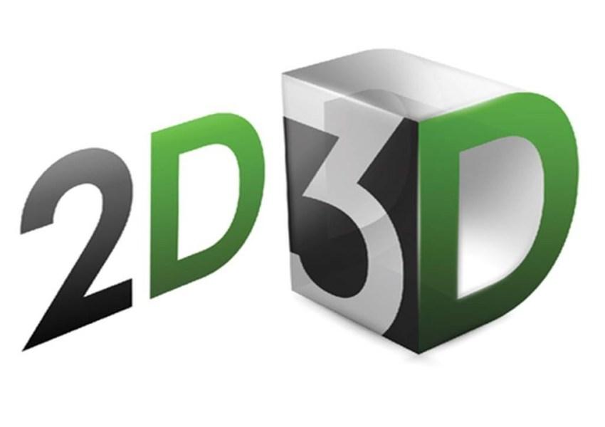 Quelle est la différence entre la 3D et la 2D ?
