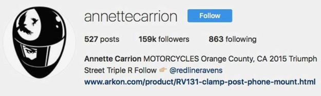 Annette A. Carrion Instagram Profile