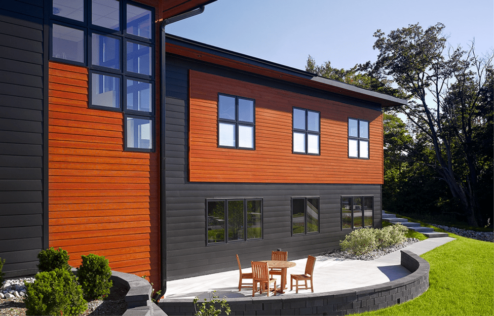 13 Modern Siding Ideas | Allura USA on Modern House Siding  id=54676