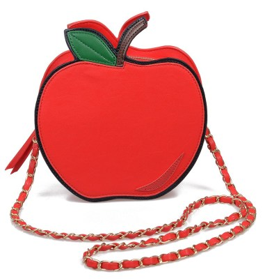 Betsey Johnson apple bag