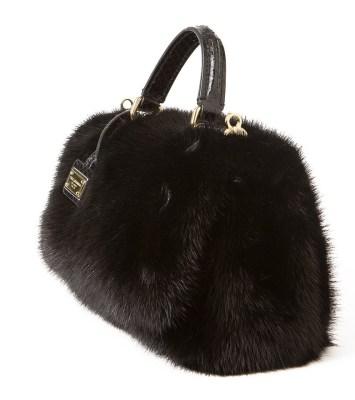 Dolce&Gabbana furry bag
