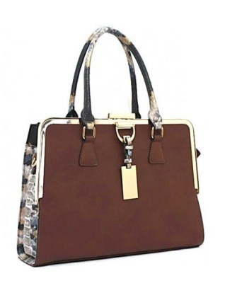 Furla structured square handbag