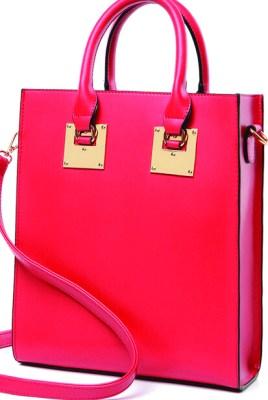 Rebecca Minkoff structured square handbag