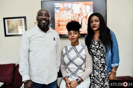 Abiola Aloba, Yemi Alade and Yetunde