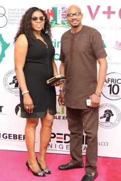 Lizzie Mensah and Babatunde Oguntayo